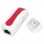 Portable 802.11 b/g Wireless AP + USB Wireless LAN Card - White