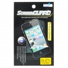 3D Heart Pattern Front + Back Protector Guard Film w/ Cleaning Cloth for Iphone 4 / 4S