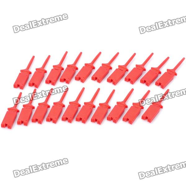 Electrical Wire Testing Clips Hooks (20-Piece)
