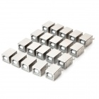 USB Type-B 4-pin Female Connectors for PCB DIY (20-Pack)