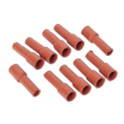 Top-Sincere Silicone 3.5mm Terminal High-Voltage Insulation Cover Jacket (10-Pack)