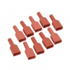 Top-Sincere Silicone 3.5mm Y-Type Terminal High-Voltage Insulation Cover Jacket (10-Pack)