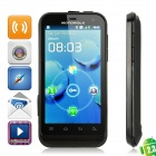 "Motorola XT535 Android 2.3 WCDMA Bar Phone w/ 3.7"" Capacitive, GPS, Wi-Fi and Single-SIM - Black"