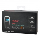 "1.3"" LCD Digital Alcohol Breath Tester - Black (2 x AA)"