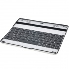 Bluetooth V3.0 + HS 78-Key Wireless Keyboard with Speaker for Ipad 1/2/New Ipad - Black + Silver