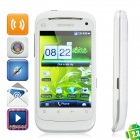 "B1000 + Android 2.3 Bar Telefon w / 3,5 ""Resistive, Quad-Band, TV - Weiß"