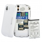 "B1000 + Android 2.3 Bar Telefoon w / 3,5 ""resistief, Quad-Band, TV - Wit"