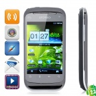 "B1000+ Android 2.3 Smart Phone w/ 3.5"" Resistive, Dual SIM, Wi-Fi and GPS - Black"