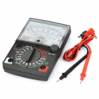 Handheld Analog Multimeter - Black (1 x 9V 6F22)
