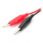 Multimeter Alligator Clip Test Lead Cable - Red
