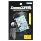 3D Triangle Effect Protective Matte Frosted Front + Back Skin Screen Protector Film for iPhone 4/4S