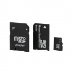 Micro SD / TF Card w/ SD / MS Adapter - Black (32GB)