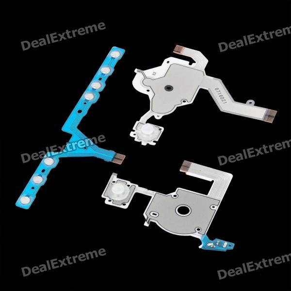 Replacement Button Keypad Flex Cable Set for PSP 3000