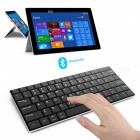 V3.0 Bluetooth 84-Key Keyboard sem fio - Preto
