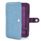 Protective Jean Cloth Case for Kindle3 - Blue