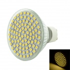 GU10 5.5W 93x3528 SMD LED 500-650LM 6000-7000K White Light Bulb (AC 220V)