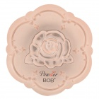 BOB Cosmetic Makeup Powder w/ Puff / Mirror - Light Beige (01#)
