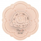 BOB Cosmetic Makeup Powder w/ Puff / Mirror - Ivory White (02#)