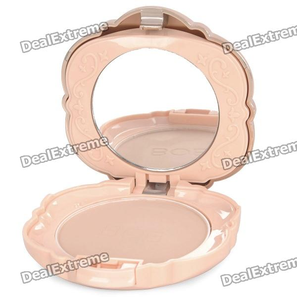 BOB Cosmetic Makeup Powder w/ Puff / Mirror - Dark Brown (04#) m rui cosmetic makeup powder w puff mirror natural color