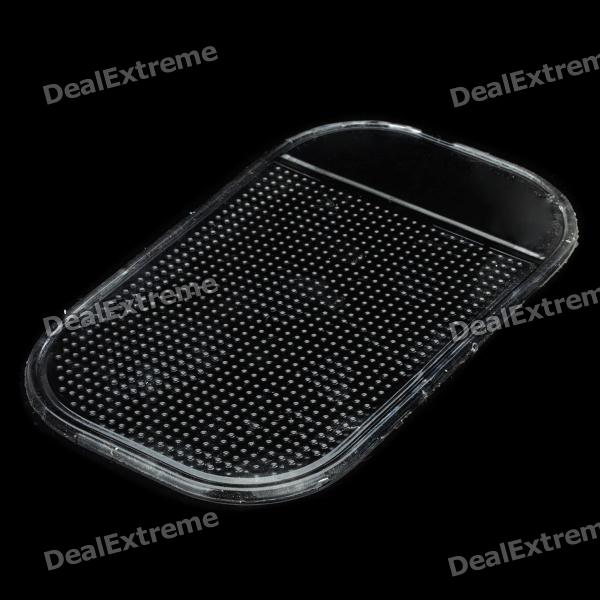 Фото Silicone Vehicle Anti-slip Mat - Transparent jetting new 1pcs mobile double side suction cup mat silicone sucker anti slip durable rectangle random color drop shipping