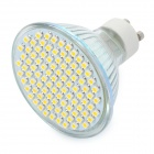 GU10 5.5W 3500K 650-Lumen 93-3528 SMD LED Warm White Light Bulb (AC 220V)