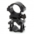 25mm Gun Mount Holder Clip Clamp for Flashlight - Black