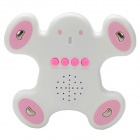 Human Body Interaction Music Playing Game Toy - White + Pink (2 x AA)
