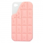 Protective Silicone Case for iPhone 4 - Light Pink