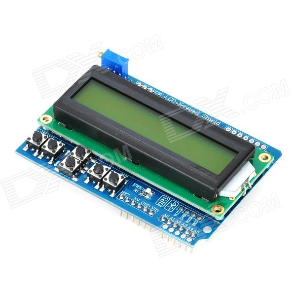 Quot lcd keypad shield expansion board for arduino works