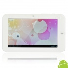 "7"" Capacitive Screen Android 4.0 Tablet w/ WiFi / External 3G / G-Sensor / Camera - White (4GB)"