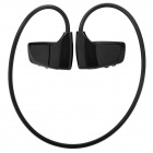 Stylish Sports Rechargeable MP3 Music Player Headset - Black (2GB)