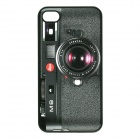Novelty Camera Pattern ABS Back Case for Iphone 4 / 4S - Black