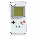 Vintage Game Boy Style Protective Back Case for iPhone 4 / 4S - White