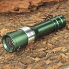 180LM 3-Mode LED White Light Zoom Flashlight w/ Strap (1 x AA)