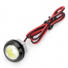 4W 190-Lumen 6000K LED Eagle Eye White Lights for Car - Size M (DC 12V / 41cm-Cable Length)