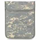 Radiation Protection Nylon Bag Case for Ipad / Samsung / Motorola Table PC - Camouflage Grey