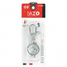 BAZO B201 Stainless Steel Keychain - Silver