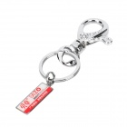 BAZO Stainless Steel Keychain - Silver