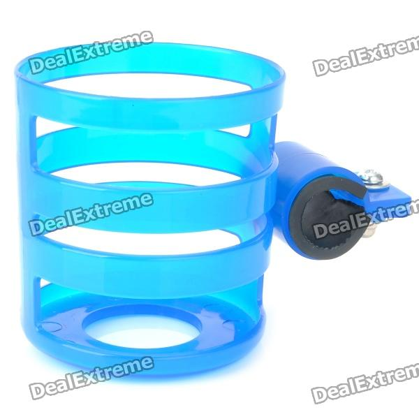 Stylish Bicycle Bike Plastic Holder for Drink Can / Cola Can / Cell Phone - Blue