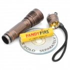 NEW-629 900LM 5-Mode White Flashlight - Brown (1 x 18650)