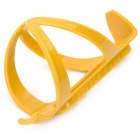Bike Bicycle Plastic Water Bottle Holder Cage - Yellow