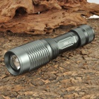 Cree XM-L T6 510LM 5-Mode White Light Focusing Flashlight - Light Grey (1 x 18650)