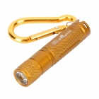 UltraFire E05 Cree XP-G R5 150LM 1-Mode White Flashlight - Golden (1 x AAA)