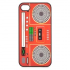 Cool Audio Recorder Style Protective PC Back Case for Iphone 4 / 4S - Red