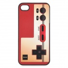Vintage Game Controller Style Protective PC Back Case for Iphone 4 / 4S - Red + Light Yellow
