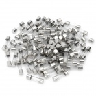 DIY 2A Glass Tube Fuse Set - Silver (100-Piece)