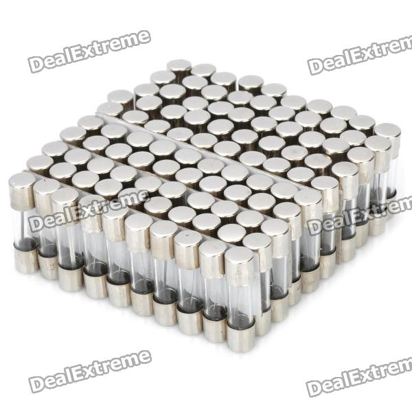 DIY 5A 5mm x 20mm High Class Glass Fuses (100-Pack)