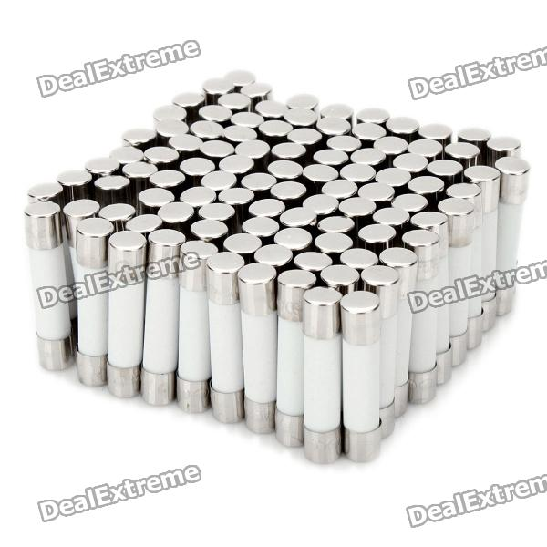 5A Set fusível cerâmico do tubo (100-Piece Pack / 6 x 30 mm)