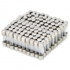 DIY 1A 5mm x 20mm High Class Glass Fuses (100-Pack)