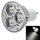 GU10 3*1W 3W SemiLED XM05W060E 300-Lumen White 3-LED Light Bulb (85~265V AC)